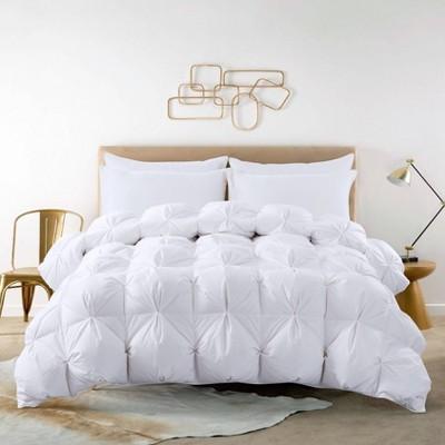 Pintuck Duck Down Comforter - St. James Home