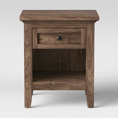 Carson End Table Walnut Brown - Threshold™