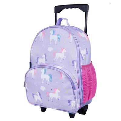 Wildkin Unicorn Rolling Luggage