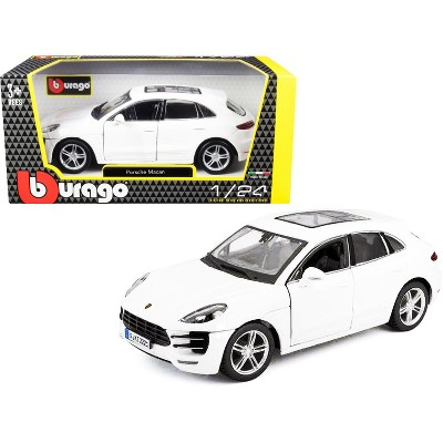Bburago 1:24 Porsche Macan Diecast Assembly Line Metal Kit Model Car Blue