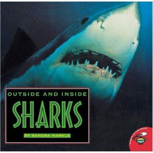 Outside and Inside Sharks - (Outside Inside) by  Sandra Markle (Paperback) - image 1 of 1