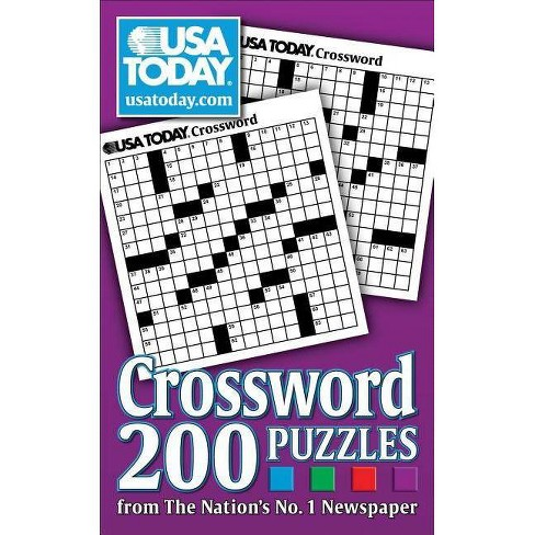 USA Today Crossword (Paperback) by USA Today - image 1 of 1
