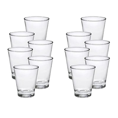 Duralex 12 Ounce Pure Glass Everyday Formal Dining Classic Drinkware Tumbler Drinking Glasses, Made in France, Set of 6 (2 Pack)
