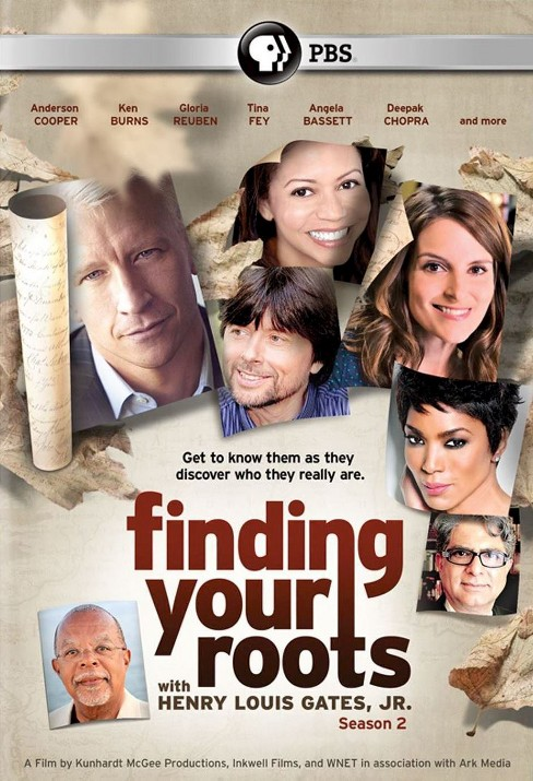 Finding your roots:Season 2 (DVD) - image 1 of 1