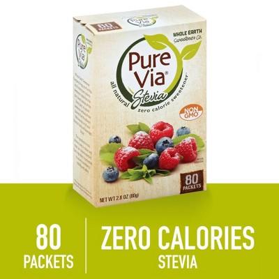 Pure Via All Natural Sweetener - 2.8oz 80pk