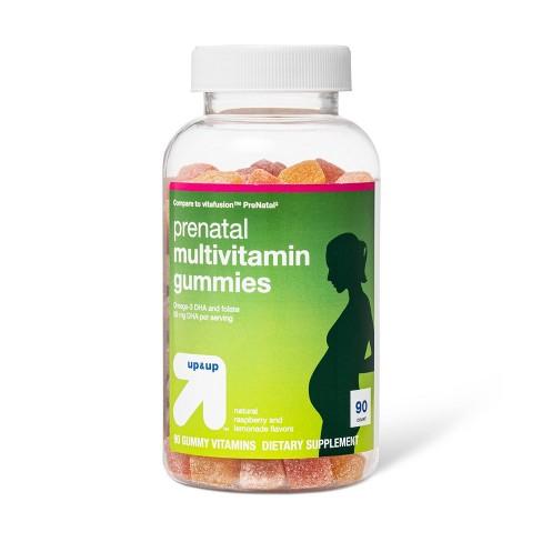 Prenatal Multivitamin Gummies - Fruit Flavors - 90ct - up & up™ - image 1 of 3