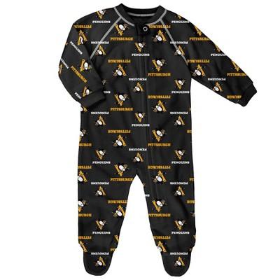 NHL Pittsburgh Penguins Infant Sleeper - 6-9M