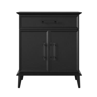 Tolland Storage Cabinet Black - Room & Joy