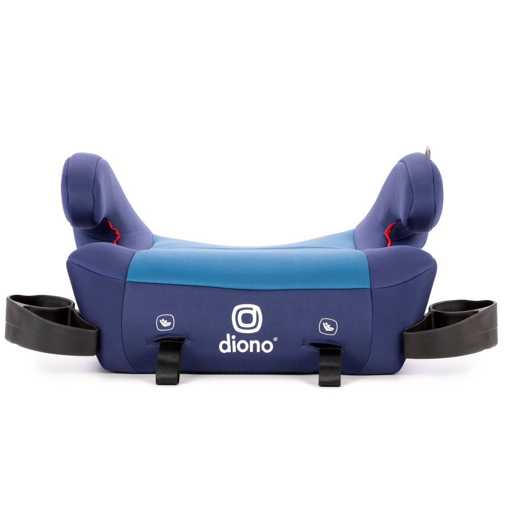 Image of Diono Solana 2 Backless Booster Car Seat - Blue