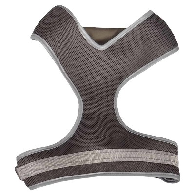 Mesh Dog Harness - Gray - Large - Boots & Barkley™
