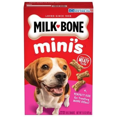 Milk-Bone Mini's Biscuits Flavor Dog Treats
