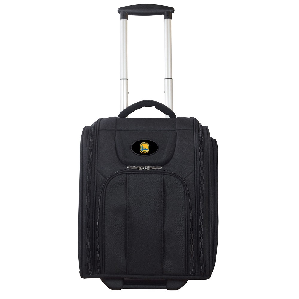 NBA Golden State Warriors Deluxe Wheeled Laptop Briefcase Overnighter, Adult Unisex, Size: Small