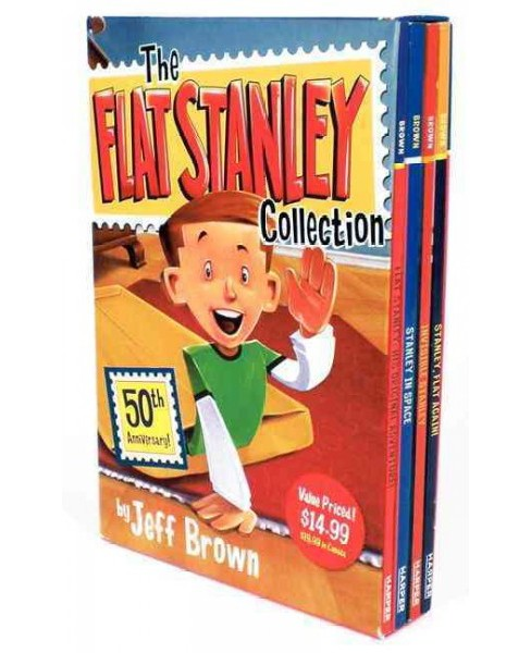 Flat Stanley Collection Box Set : Flat Stanley, Invisible Stanley, Stanley in Space, and Stanley, Flat - image 1 of 1