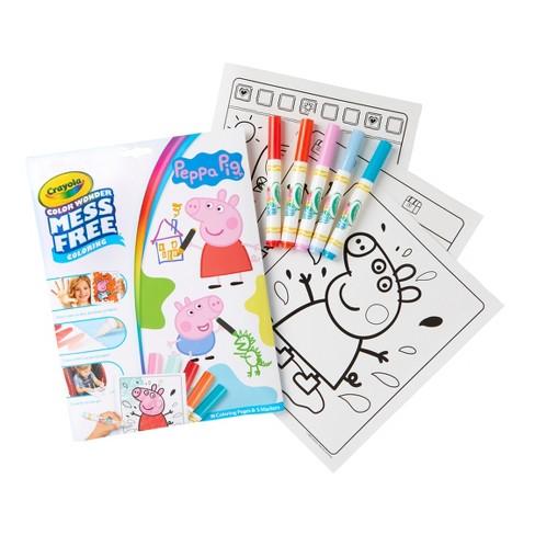 Crayola Peppa Pig Coloring Book Set