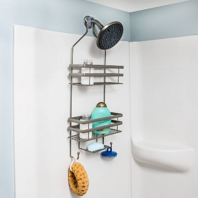 Flat Wire Shower Caddy Gray - Honey Can Do