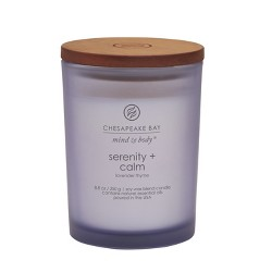 Jar Candle Serenity & Calm - Mind And Body By Chesapeake Bay Candle