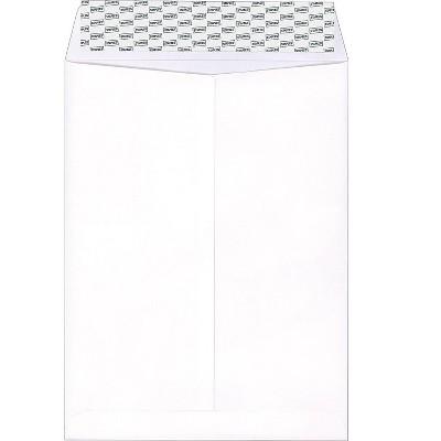 "MyOfficeInnovations EasyClose Catalog Envelopes 9"" x 12"" White Wove 250/Box 479885"
