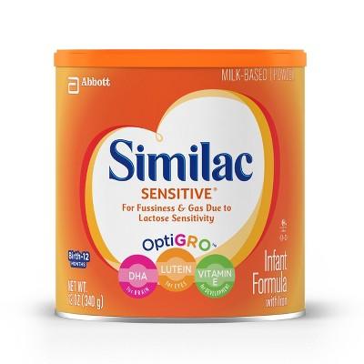 Similac Sensitive Infant Powder - 12.6oz