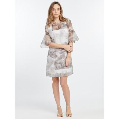 NIC+ZOE Women's Toile Memory Dress