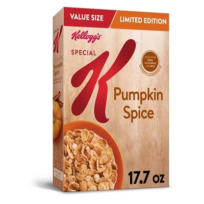 Special K Pumpkin Spice Breakfast Cereal - 17.7oz - Kellogg's