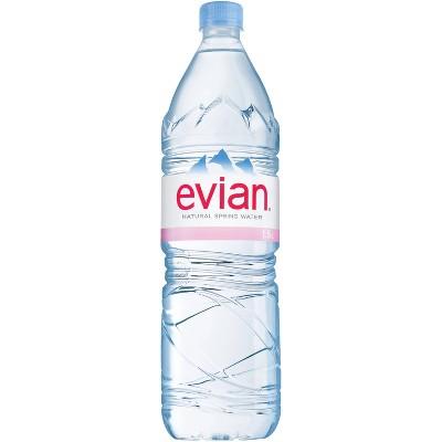 Evian Natural Spring Water - 1.5L Bottle