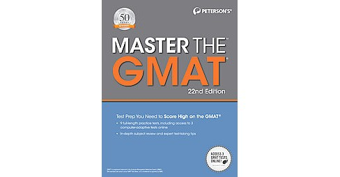 Master the GMAT (Paperback) - image 1 of 1