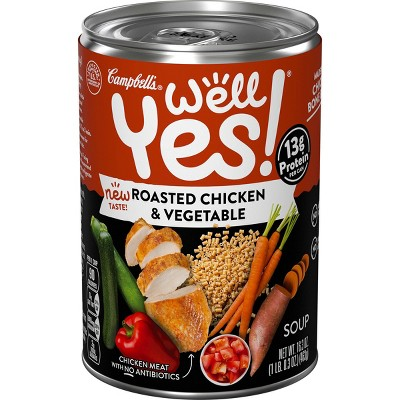 Well Yes! Roasted Chicken & Vegetable Soup - 16.3oz