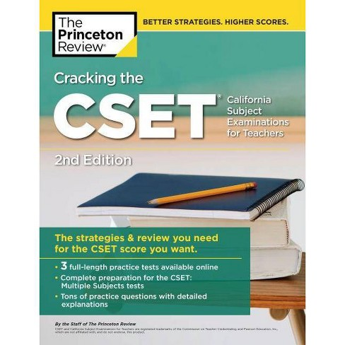Cracking the Cset (California Subject Examinations for Teachers), 2nd  Edition - (Paperback)