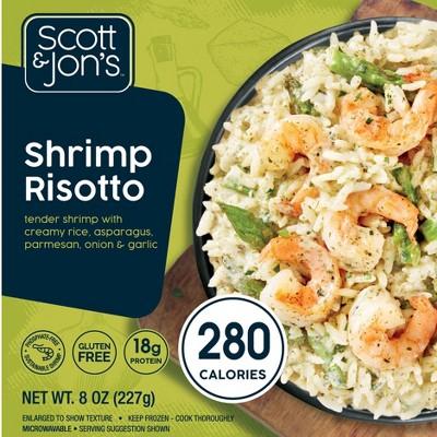 Scott & Jon's Shrimp Risotto Frozen Rice Bowl - 8oz