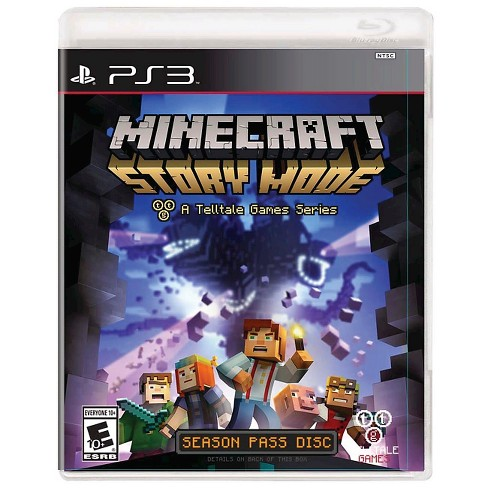 Minecraft: Story Mode Season Disc PlayStation 3
