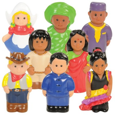 Kaplan Early Learning Around the World Dolls - Set of 8