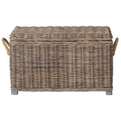 Salim Storage Trunk Gray - Safavieh®