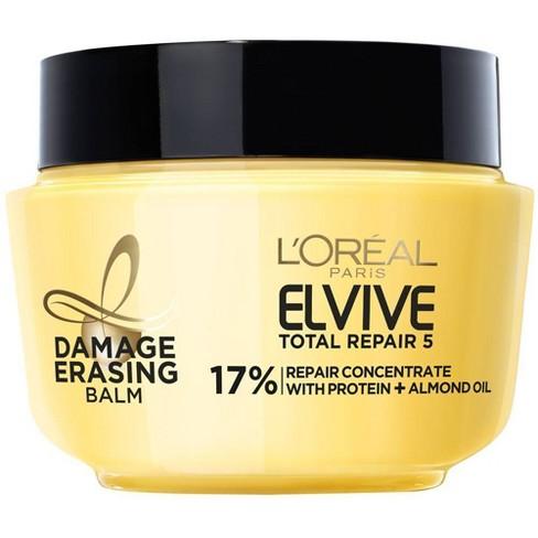 L'Oréal Paris Elvive Total Repair 5 Damage-Erasing Balm - 8.5 fl oz - image 1 of 4