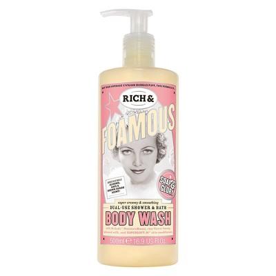 Soap & Glory Rich & Foamous Dual-Use Shower & Bath Body Wash - 16.9 fl oz