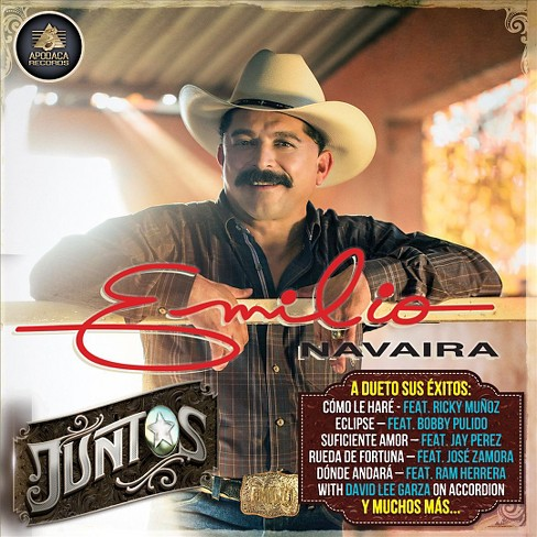 Emilio navaira - Juntos (CD) - image 1 of 1