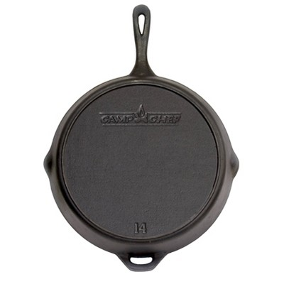 Camp Chef 14  Cast Iron Skillet - Black