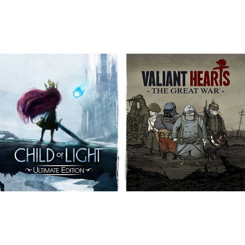 Child of Light Ultimate Edition + Valiant Hearts: The Great War - Nintendo Switch - image 1 of 4