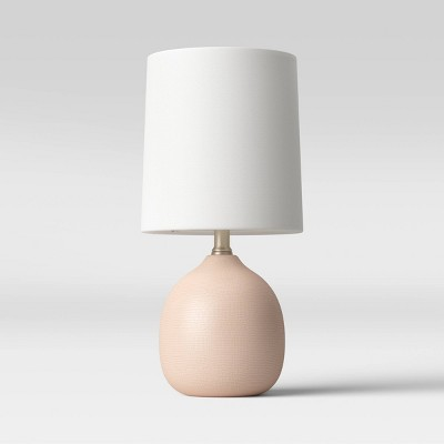 Ceramic Pattern Accent Lamp Pink - Threshold™
