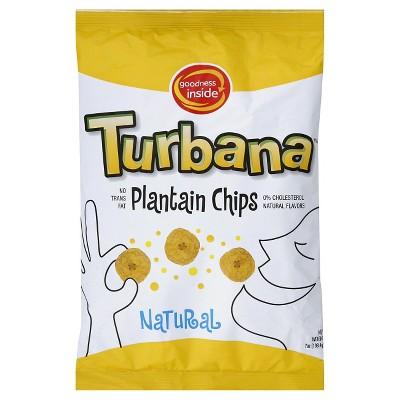 Turbana Natural Plantain Chips - 7oz/12pk