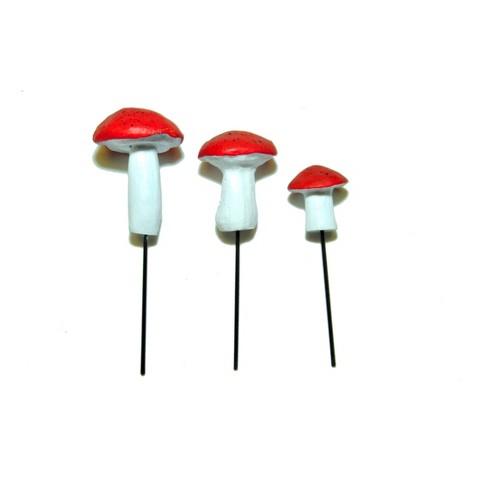 "4.5"" Stone - Lawn Decor Set MiniGarden - image 1 of 3"
