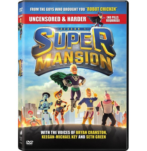Supermansion:Season One (DVD) - image 1 of 1