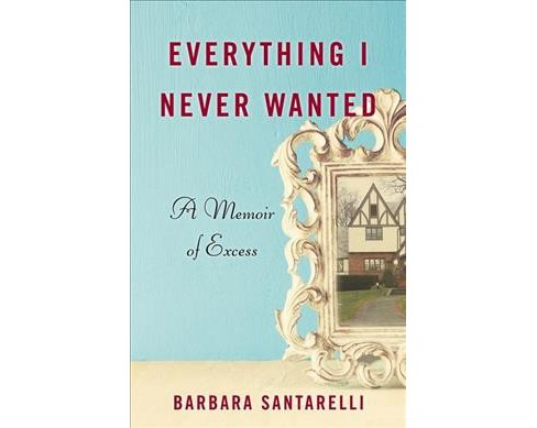 Everything I Never Wanted : A Memoir of Excess -  by Barbara Santarelli (Paperback) - image 1 of 1