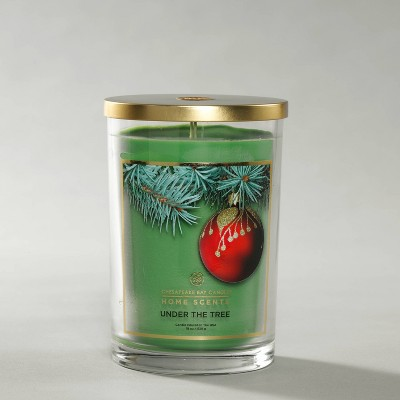 Glass Jar Under the Tree Candle - Home Scents