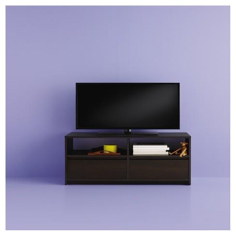 Drawer Tv Stand Espresso Room Essentials