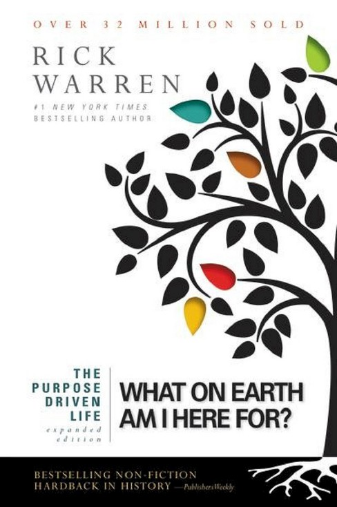 Purpose Driven Life : What on Earth Am I Here For? (Expanded) (Paperback) (Rick Warren) - image 1 of 1