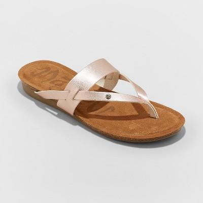 8a33fa1f5971 Women s Mad Love Regina Flip Flop Sandal - Cognac 1   Target