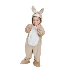 Baby Plush Bunny Costume Brown - Spritz™