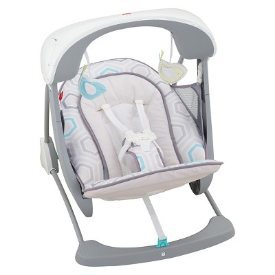 Fisher-Price Deluxe Take-Along Swing & Seat - Saturn Snuggle