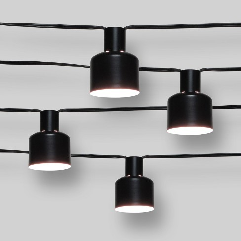 new style 9dd0d 833d8 10ct String Lights - Black Hood 11' - Project 62™
