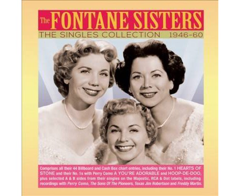 Fontane Sisters - Singles Collection:1946-1960 (CD) - image 1 of 1